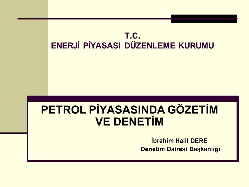 T.C. ENERJİ PİYASASI DÜZENLEME KURUMU