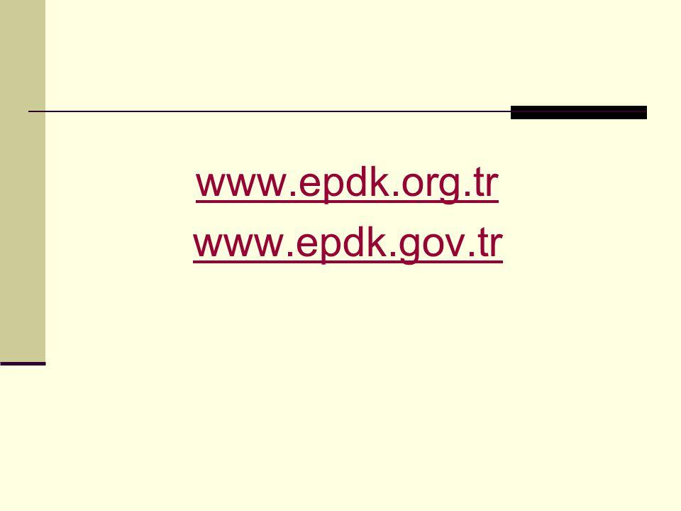 www.epdk.org.tr www.epdk.gov.tr