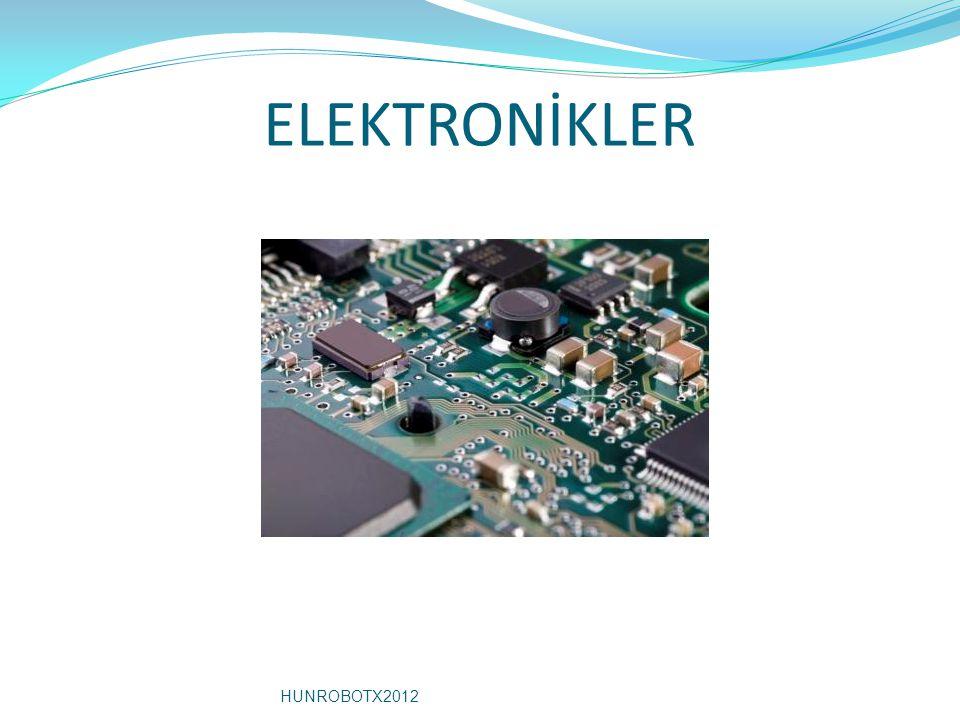 ELEKTRONİKLER HUNROBOTX2012