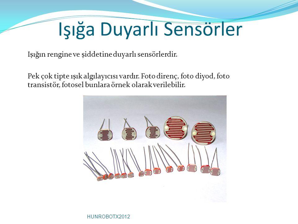 Işığa Duyarlı Sensörler