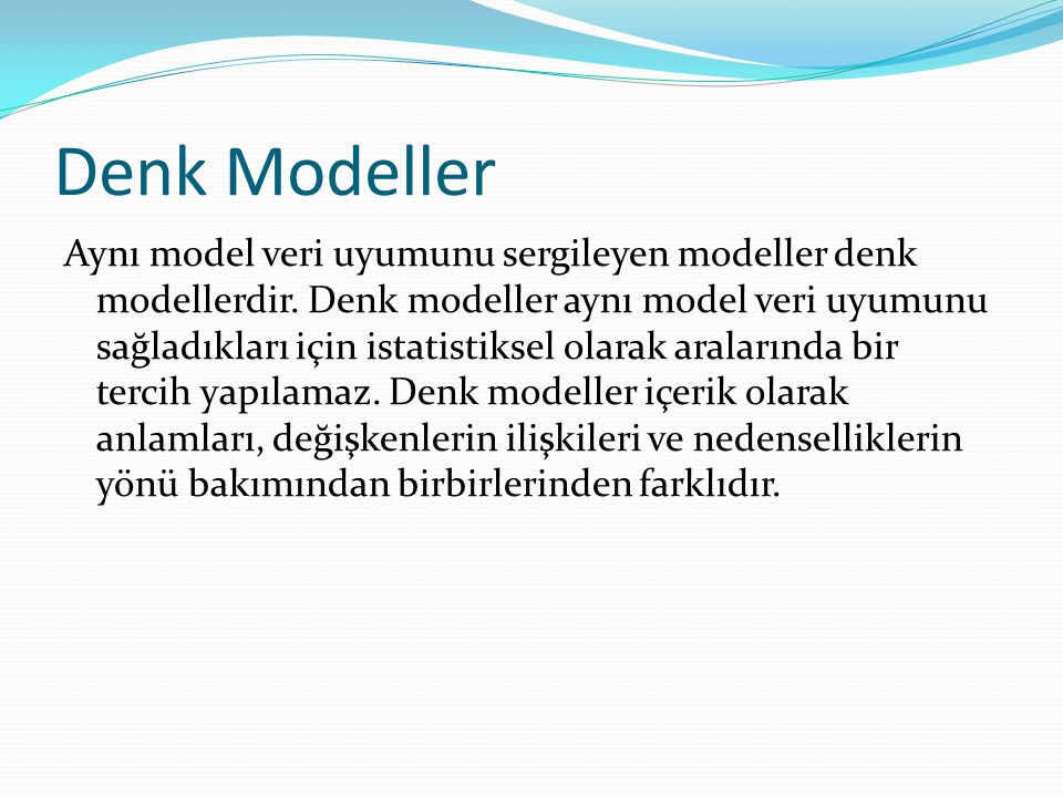 Denk Modeller