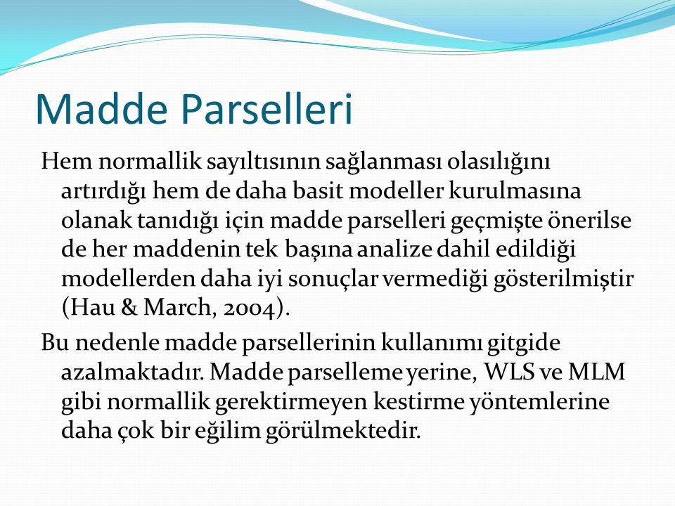 Madde Parselleri