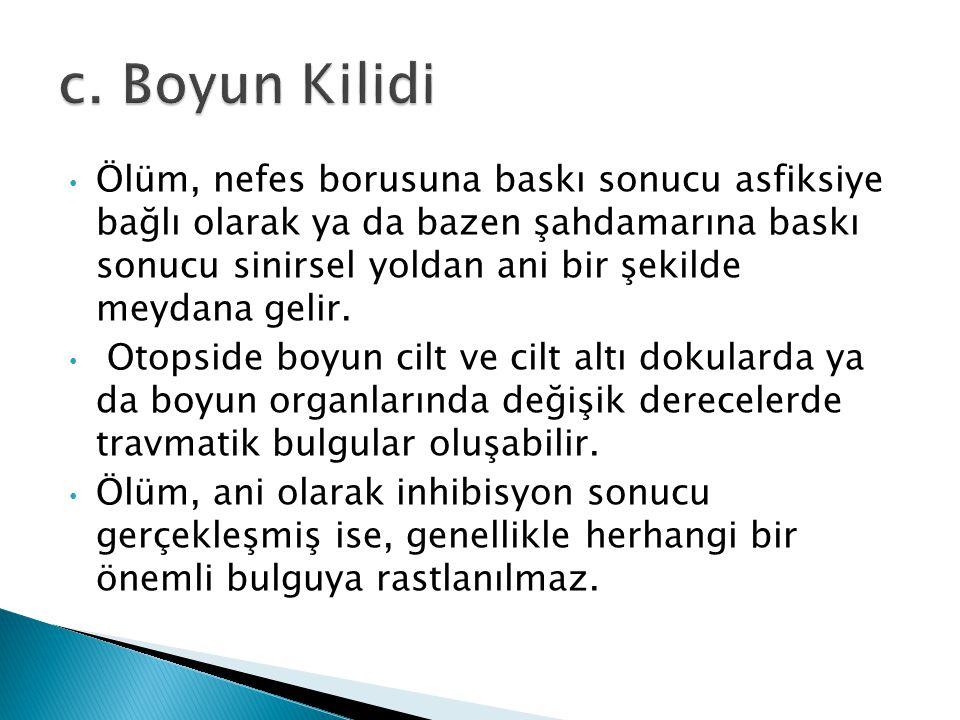 c. Boyun Kilidi