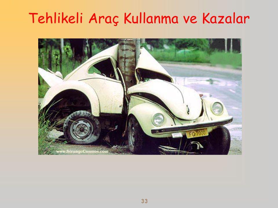 Tehlikeli Araç Kullanma ve Kazalar