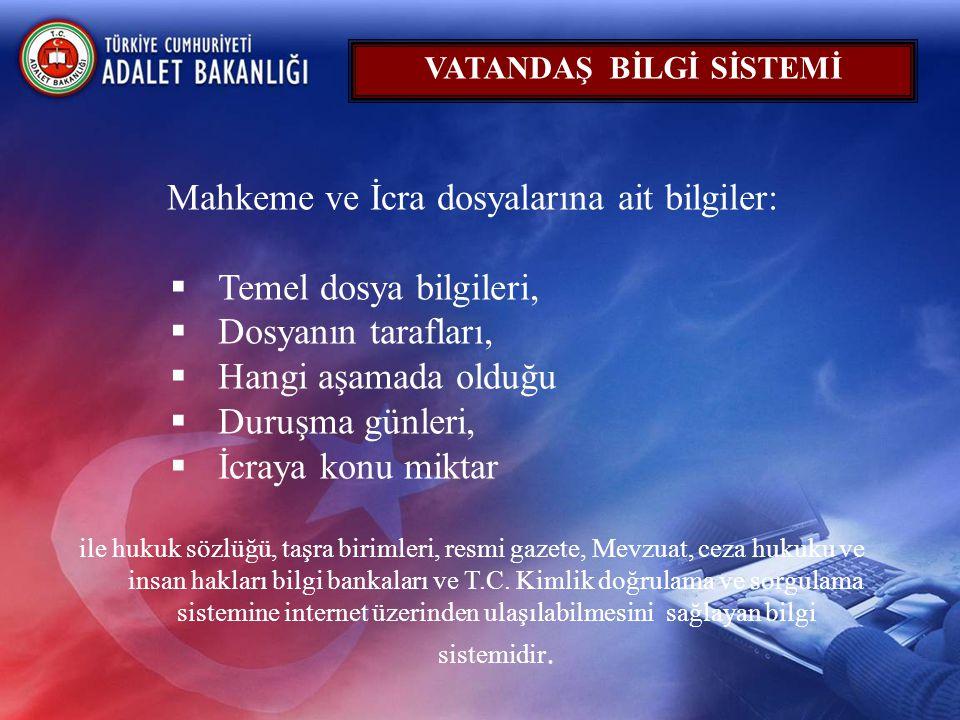 VATANDAŞ BİLGİ SİSTEMİ
