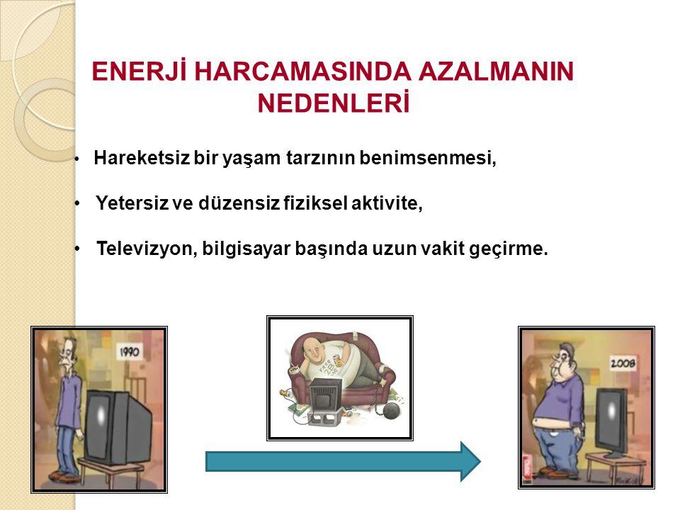 ENERJİ HARCAMASINDA AZALMANIN
