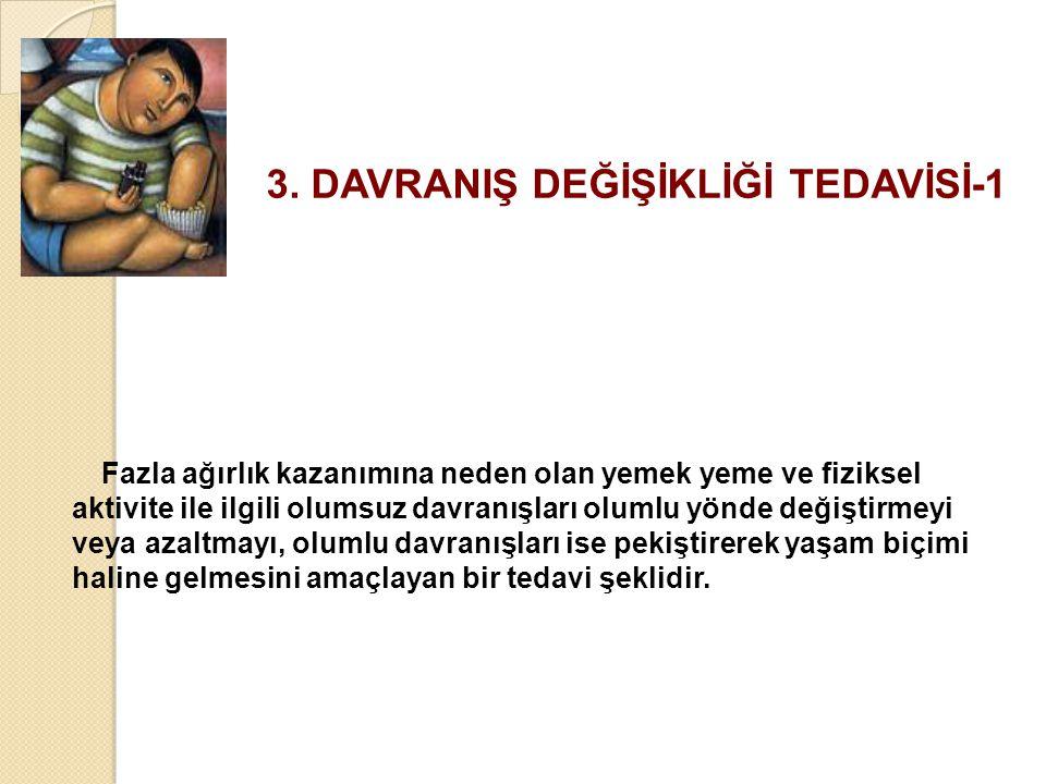 3. DAVRANIŞ DEĞİŞİKLİĞİ TEDAVİSİ-1