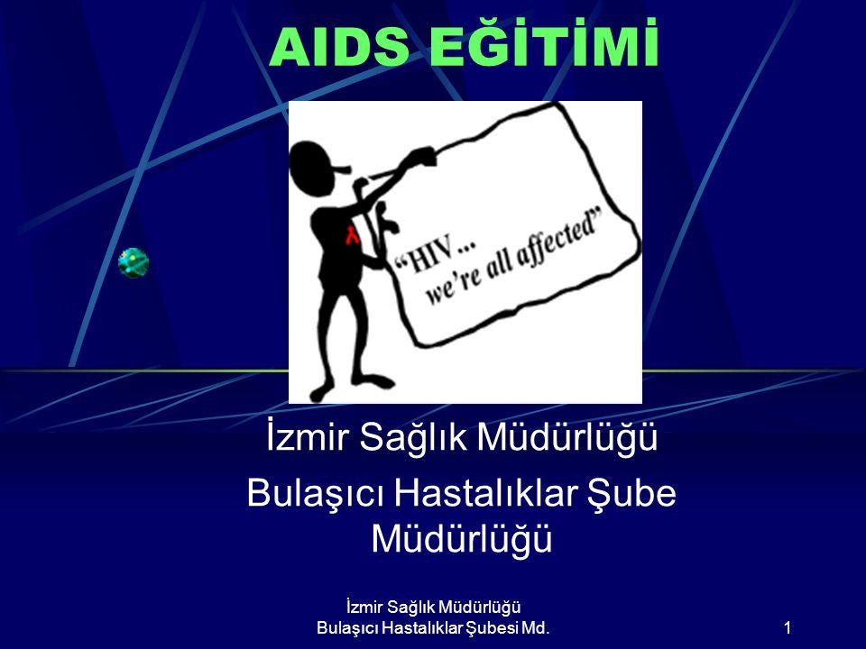İzmir Sağlık Müdürlüğü Bulaşıcı Hastalıklar Şube Müdürlüğü