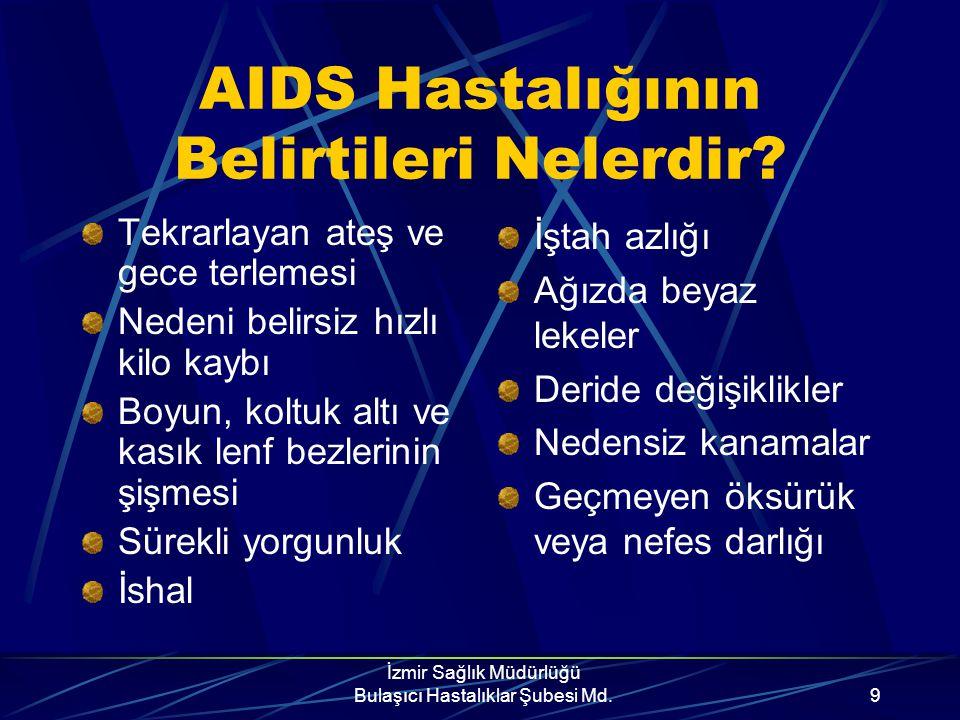 AIDS Hastalığının Belirtileri Nelerdir
