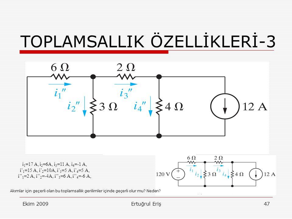 TOPLAMSALLIK ÖZELLİKLERİ-3