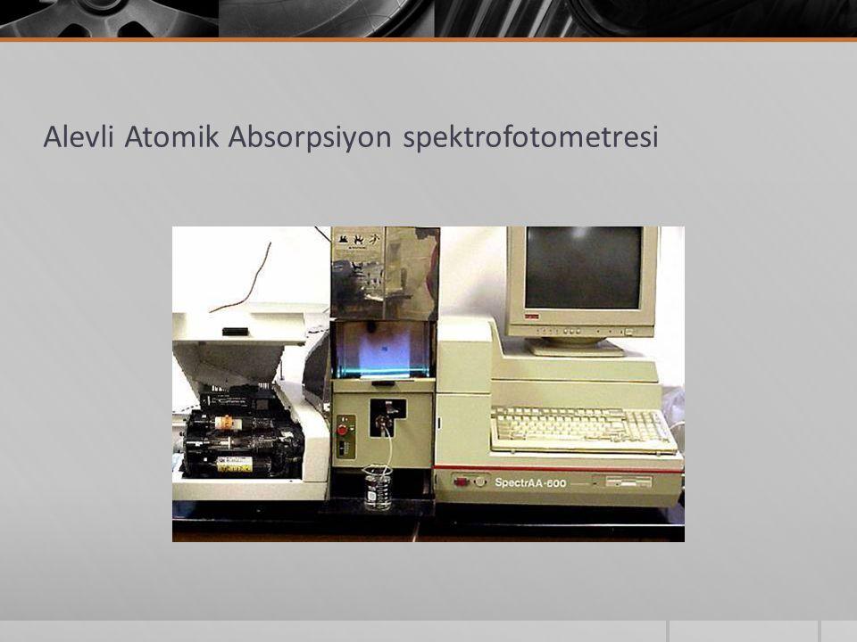 Alevli Atomik Absorpsiyon spektrofotometresi
