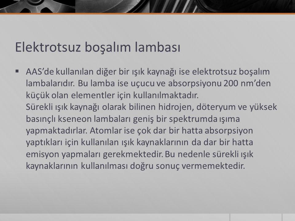 Elektrotsuz boşalım lambası