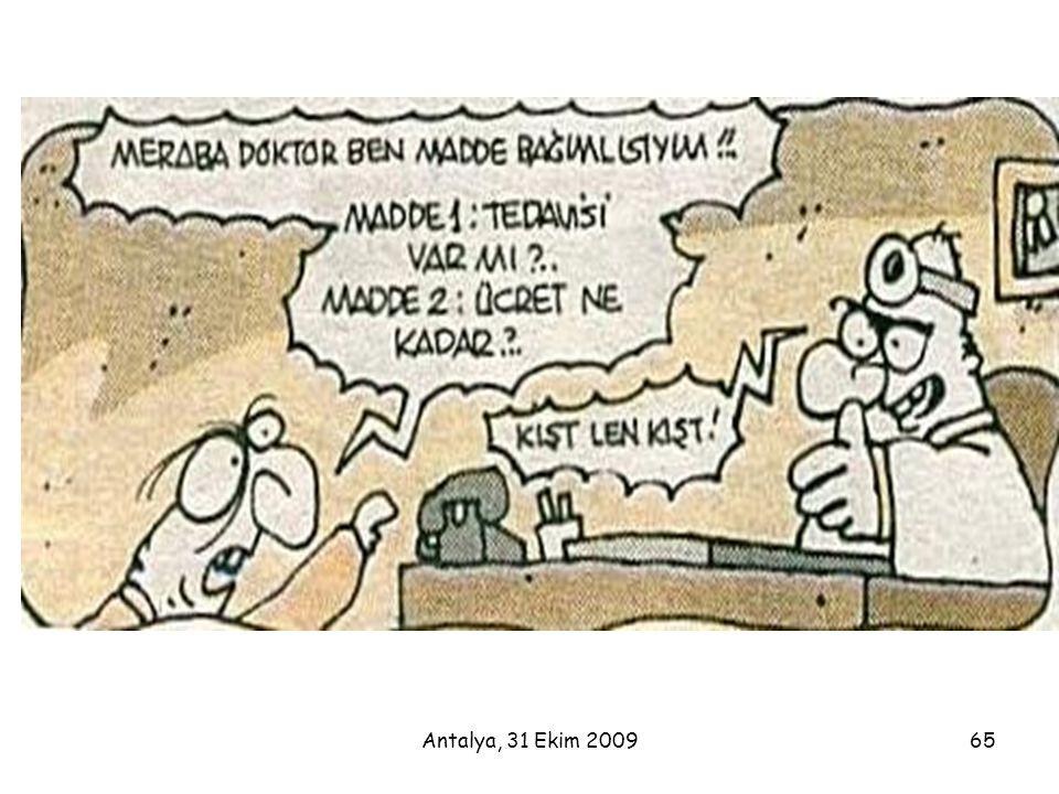 Antalya, 31 Ekim 2009