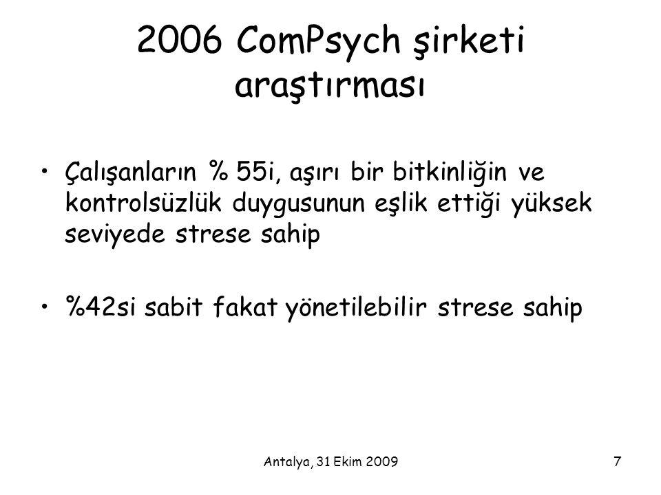 2006 ComPsych şirketi araştırması