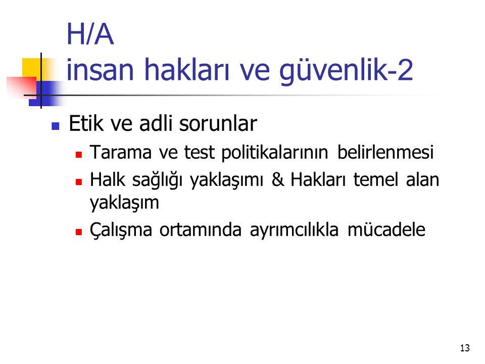 H/A insan hakları ve güvenlik-2