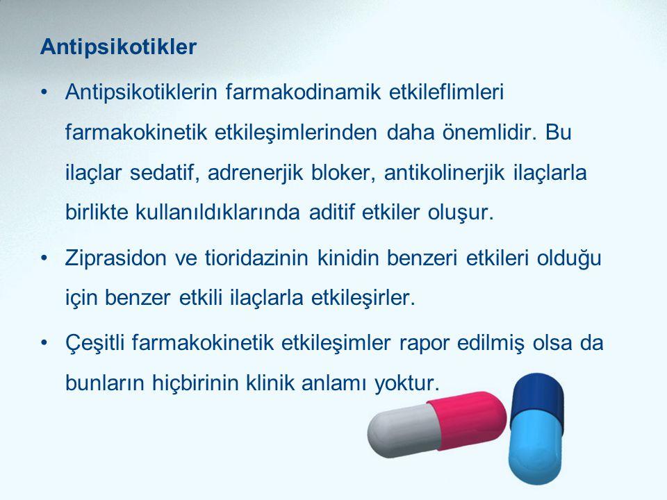 Antipsikotikler