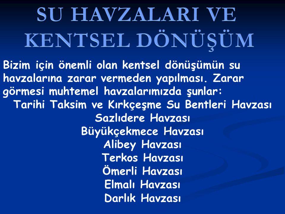 Tarihi Taksim ve Kırkçeşme Su Bentleri Havzası