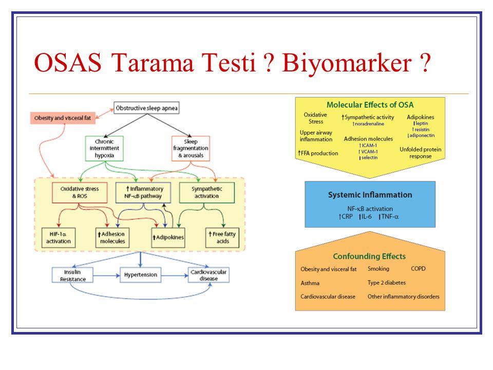 OSAS Tarama Testi Biyomarker