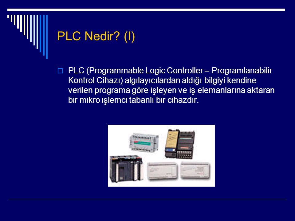 PLC Nedir (I)