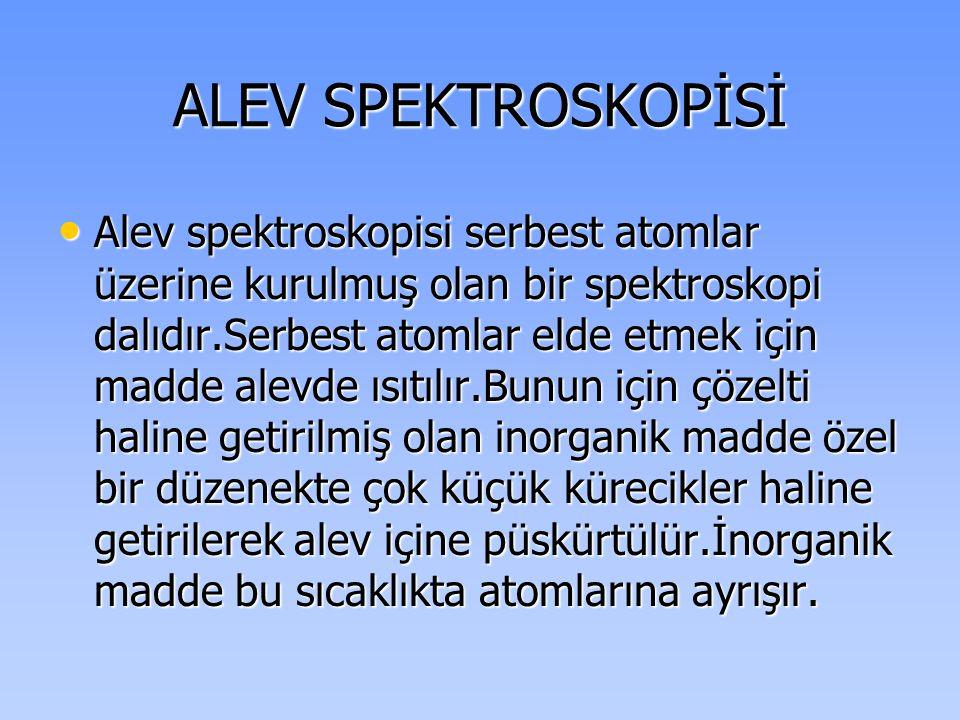 ALEV SPEKTROSKOPİSİ