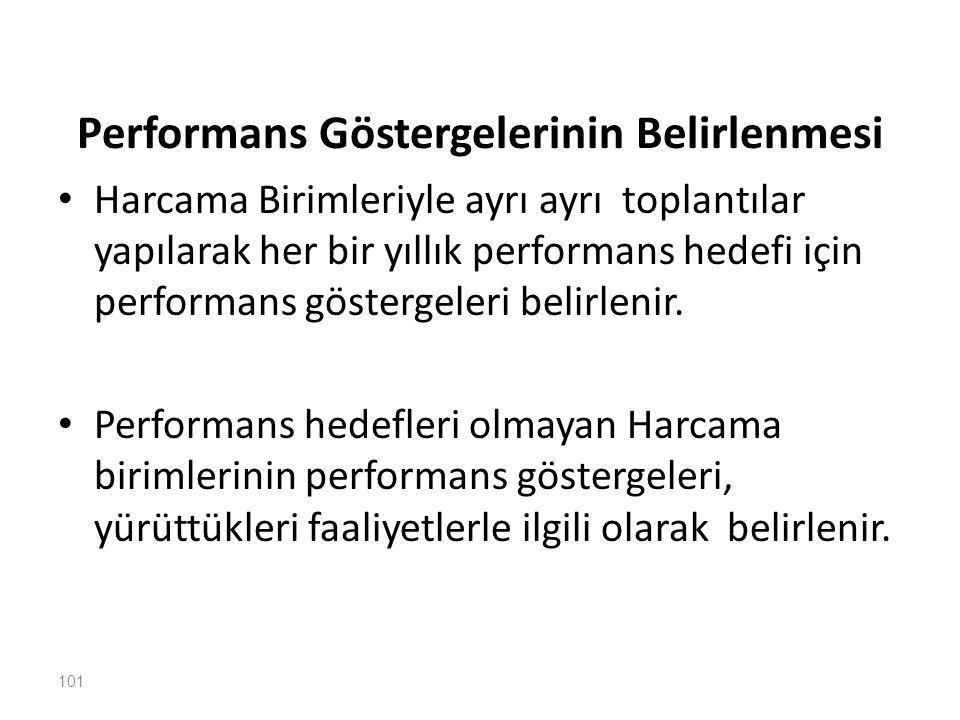 Performans Göstergelerinin Belirlenmesi