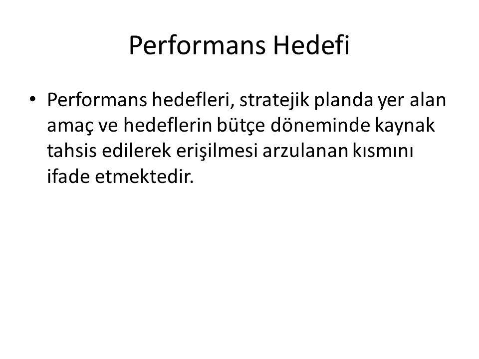 Performans Hedefi