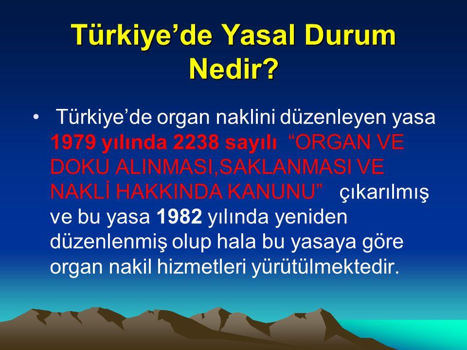 Türkiye'de Yasal Durum Nedir