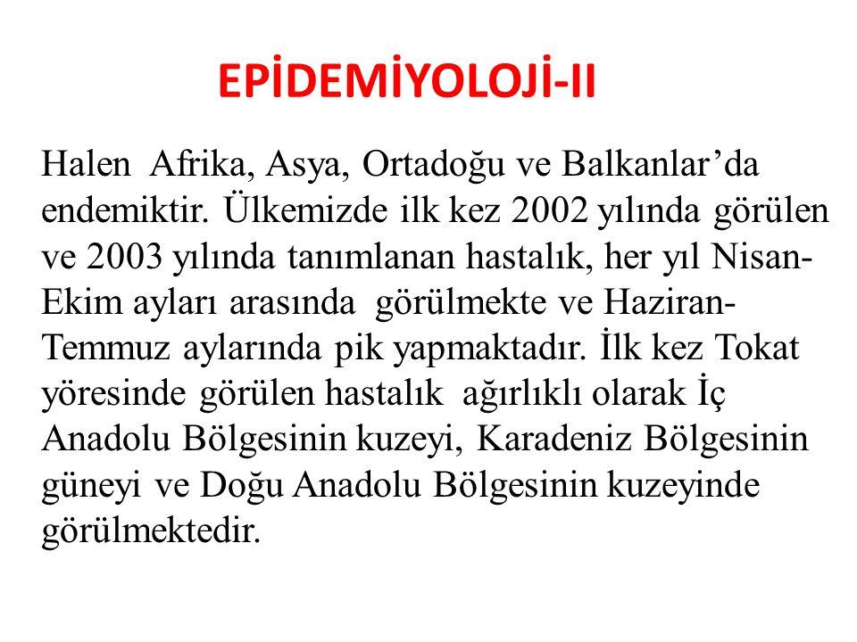 EPİDEMİYOLOJİ-II