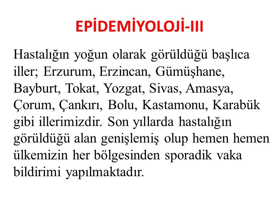 EPİDEMİYOLOJİ-III