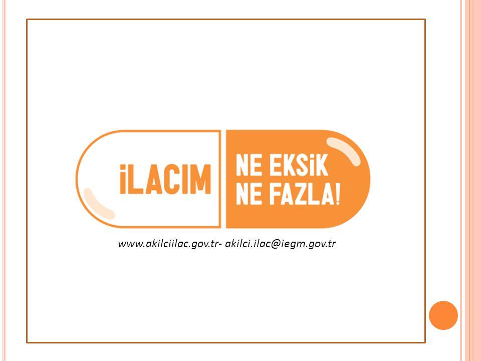www.akilciilac.gov.tr- akilci.ilac@iegm.gov.tr