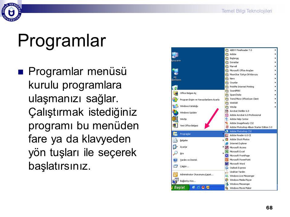 Programlar