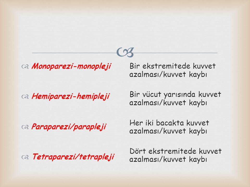 Monoparezi-monopleji