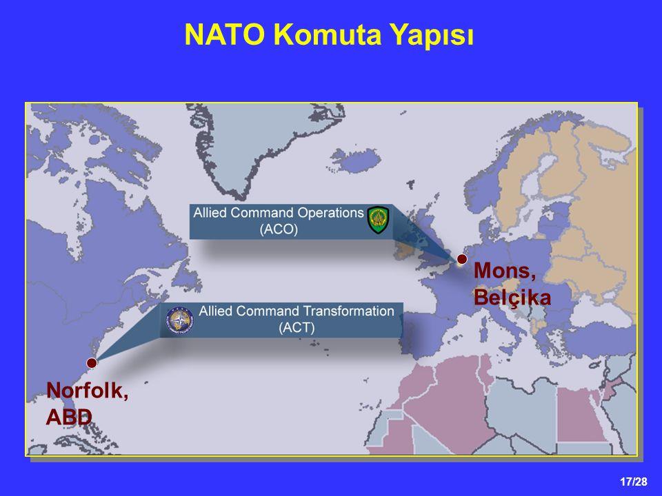 NATO Komuta Yapısı Mons, Belçika Norfolk, ABD 17