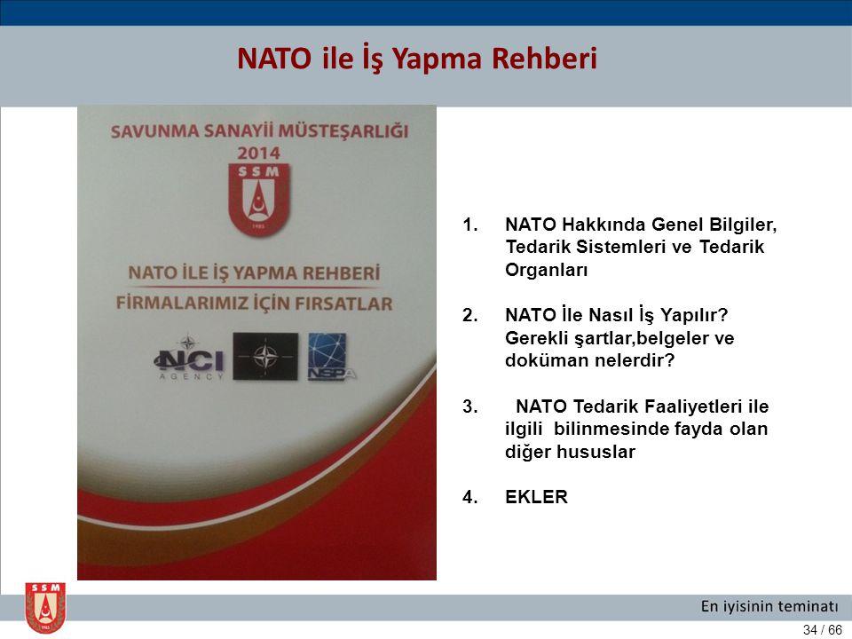 NATO ile İş Yapma Rehberi