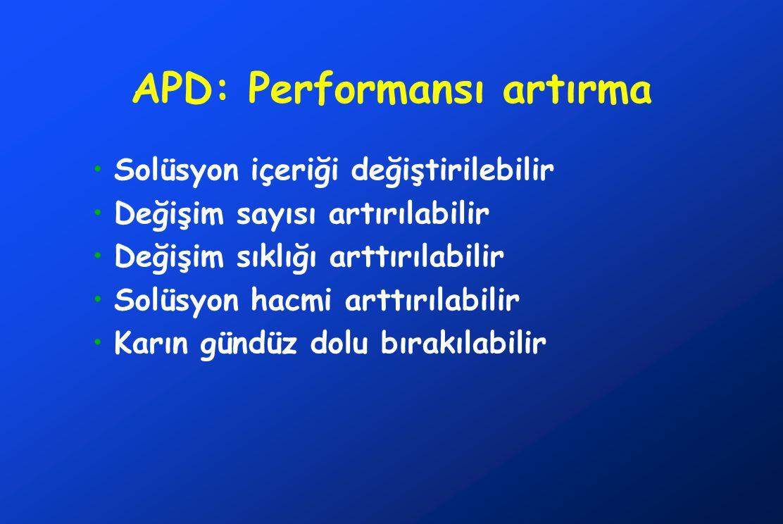 APD: Performansı artırma