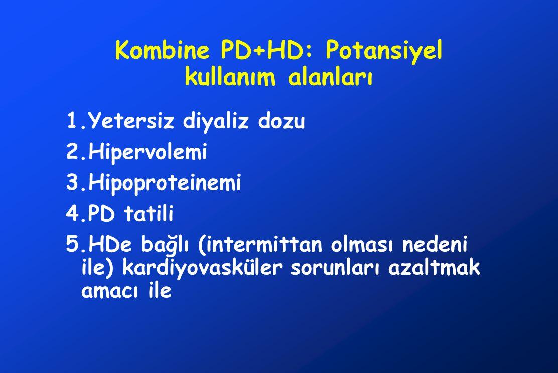 Kombine PD+HD: Potansiyel kullanım alanları