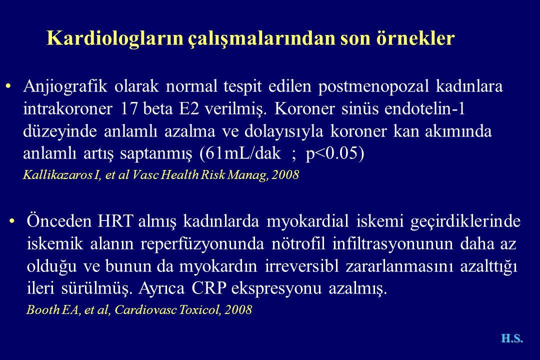 Kardiologların çalışmalarından son örnekler