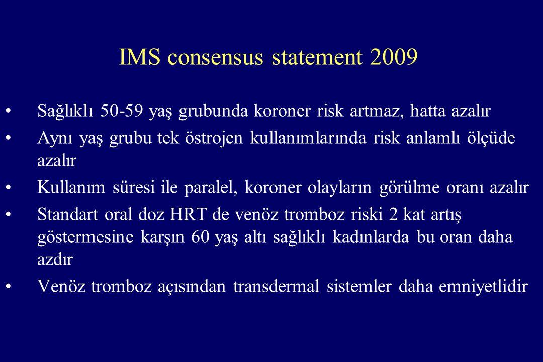 IMS consensus statement 2009