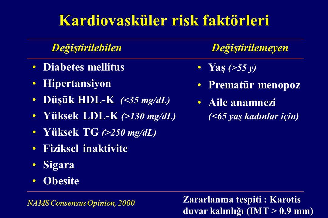 Kardiovasküler risk faktörleri
