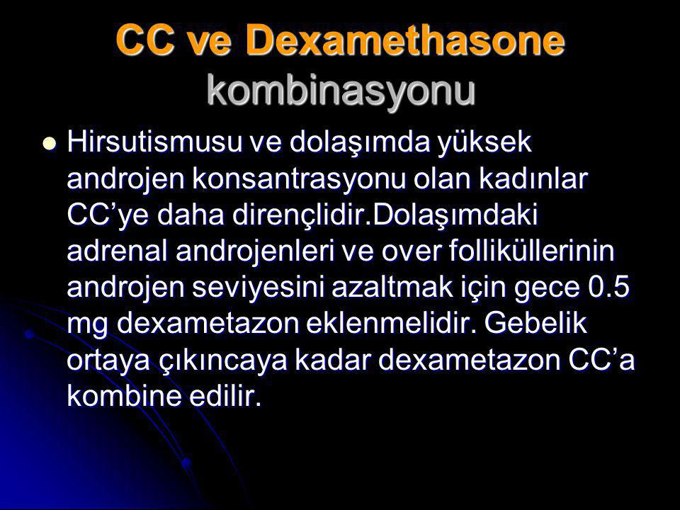 CC ve Dexamethasone kombinasyonu