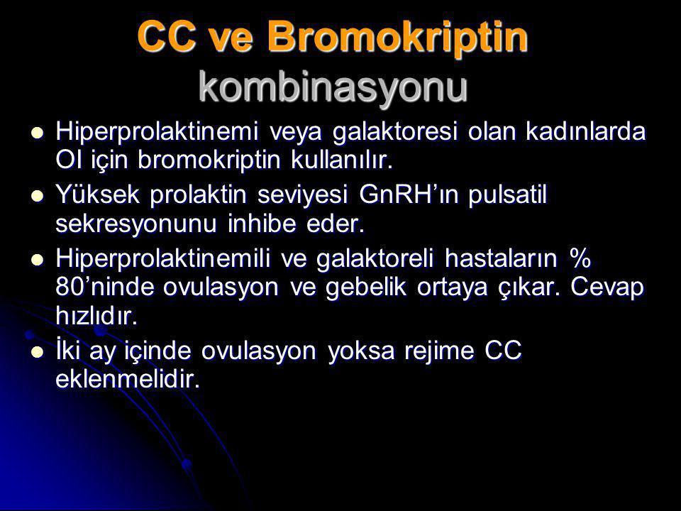 CC ve Bromokriptin kombinasyonu