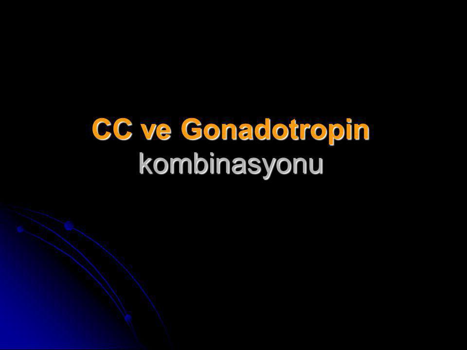 CC ve Gonadotropin kombinasyonu