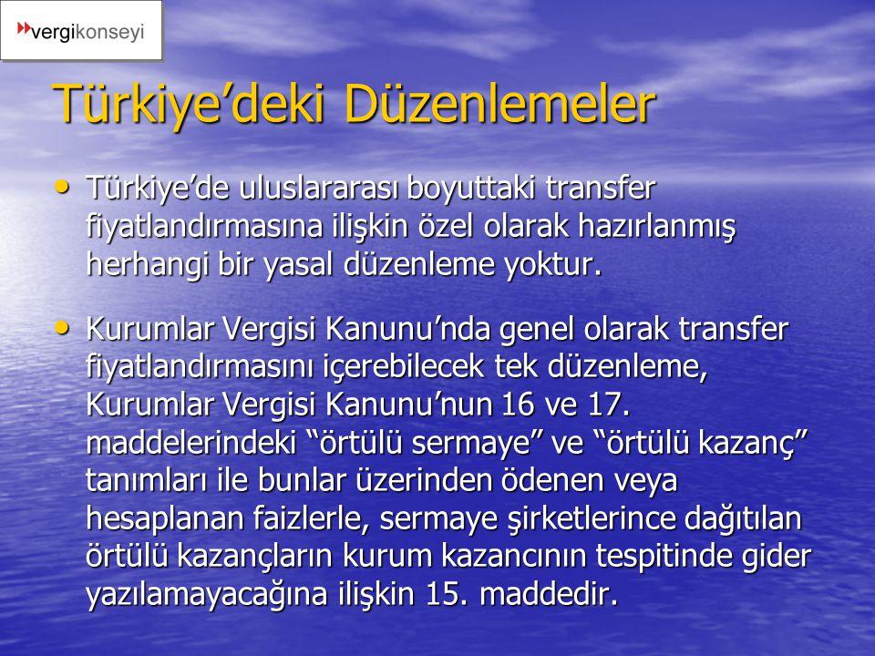 Türkiye'deki Düzenlemeler