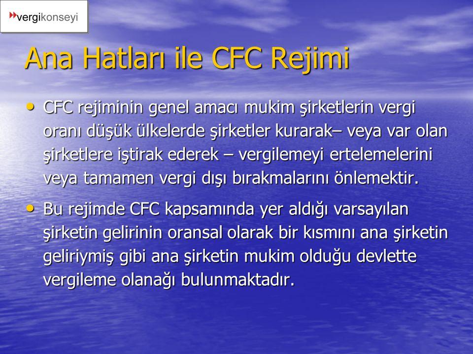 Ana Hatları ile CFC Rejimi