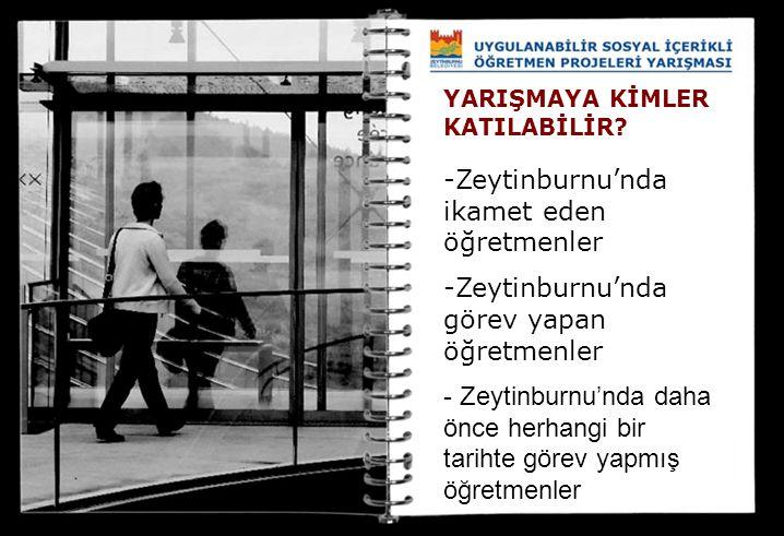 Zeytinburnu'nda ikamet eden öğretmenler