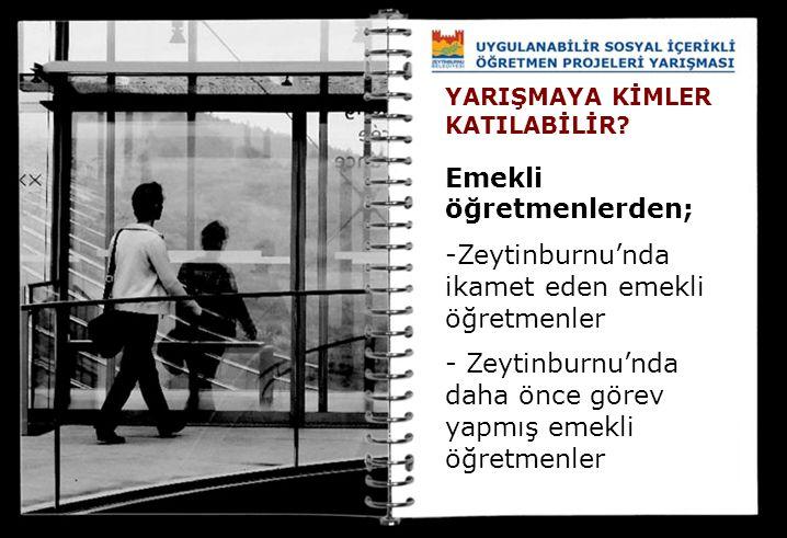 Emekli öğretmenlerden; Zeytinburnu'nda ikamet eden emekli öğretmenler