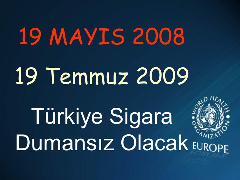 Türkiye Sigara Dumansız Olacak