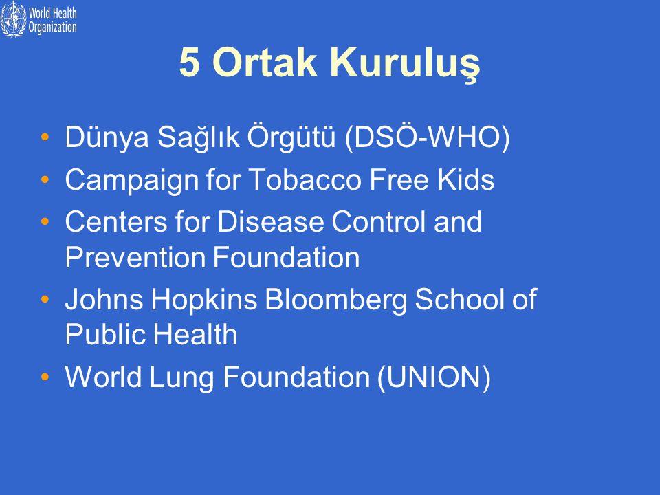 5 Ortak Kuruluş Dünya Sağlık Örgütü (DSÖ-WHO)