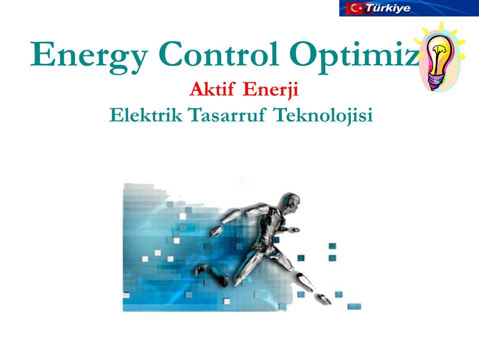 Energy Control Optimizer Elektrik Tasarruf Teknolojisi