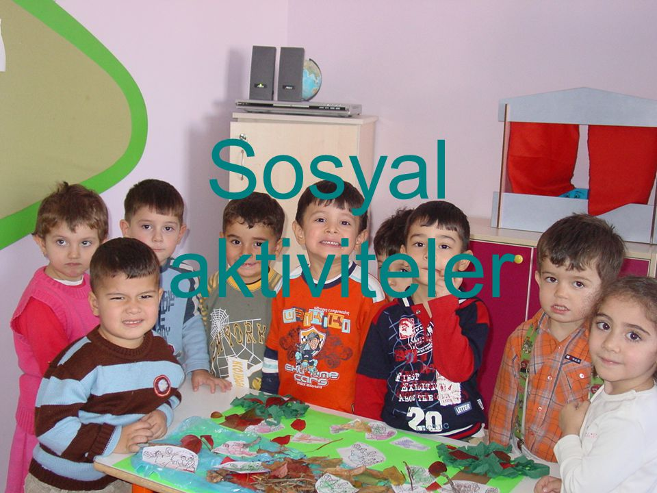 Sosyal aktiviteler